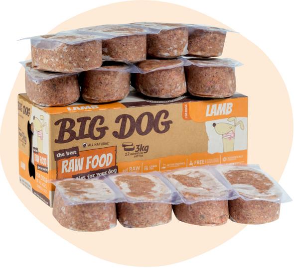 Big Dog - Lamb 3Kg