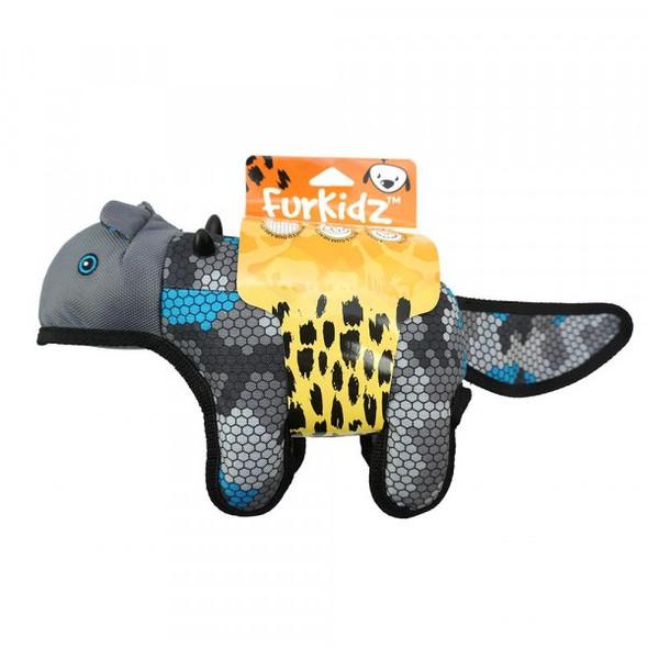 African Safari Honey Badger Blue/Grey 35Cm