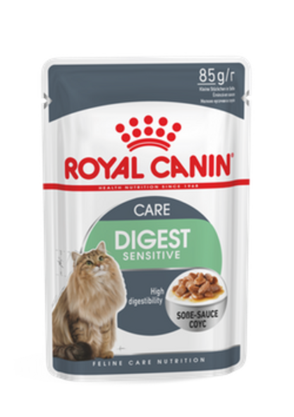 Royal Canin Cat Wet Adult Care Digest Sensitive Gravy 85gx12