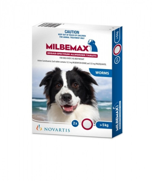 Milbemax Dog Large (>5Kg) 2Pk