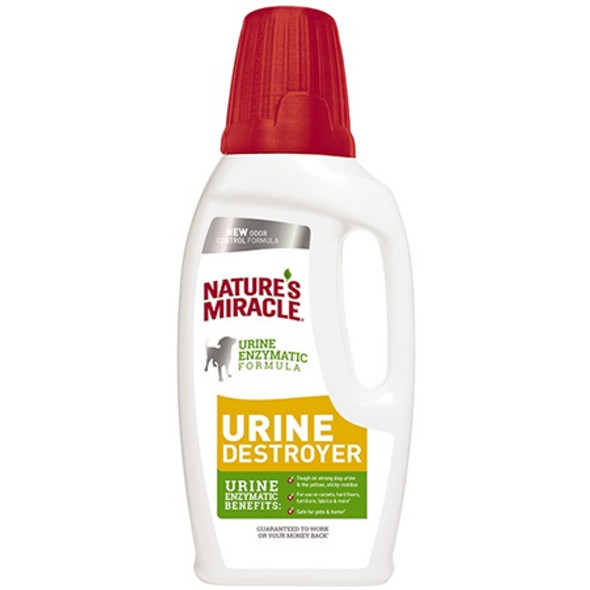 Natures Miracle Dog Urine Destroyer Pour 946ml