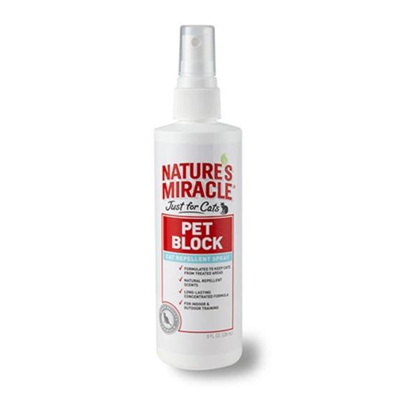 Nature's Miracle -Cat Pet Block Repellent Spray 236Ml