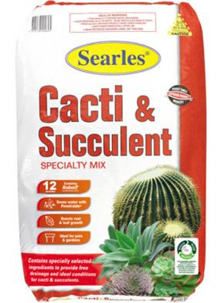 Searles Cacti & Succulent Mix 25L