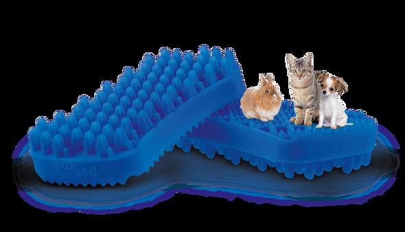 Pet + Me Silicone Brush Blue