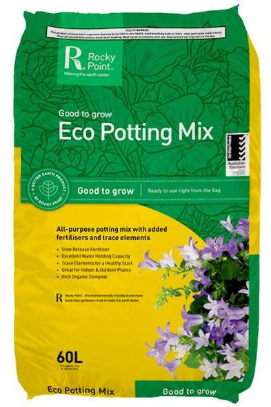 Rocky Point Eco Start Potting Mix 60L