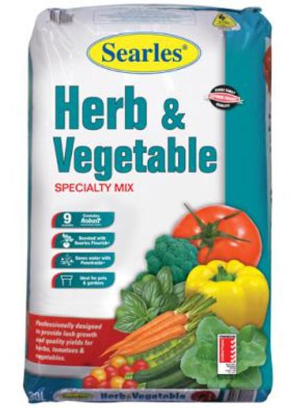 Searles Herb & Vege Potting Mix 30L