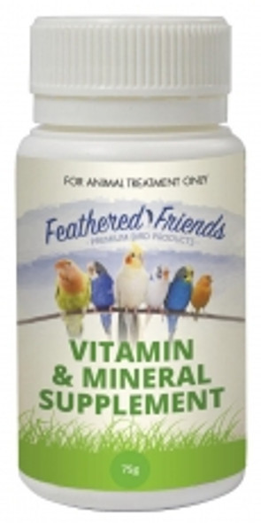 Feathered Friends Vitamin and Min Sup 75g