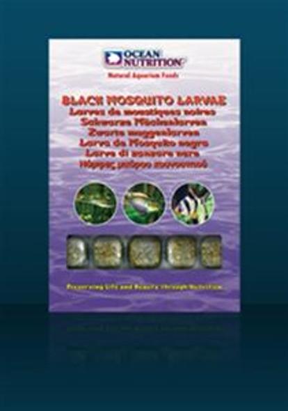On Frozen Black Mozzy Larvae 100G