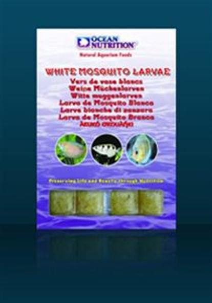 On Frozen White Mozzy Larvae 100G