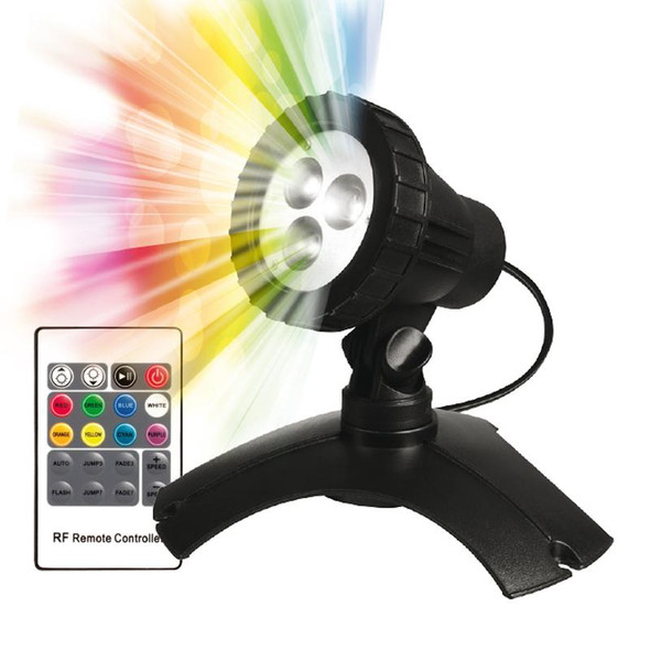 PondMax 3 LED Multi Colour Pond/Garden Light (Inc Remote Control)