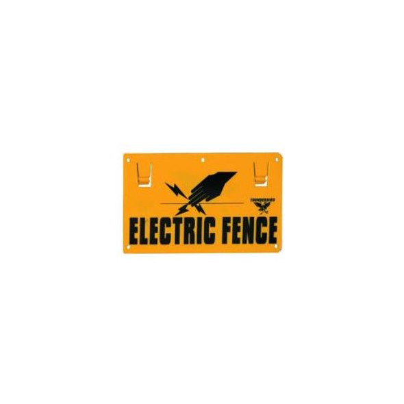 Sign-Warning Electric Fence