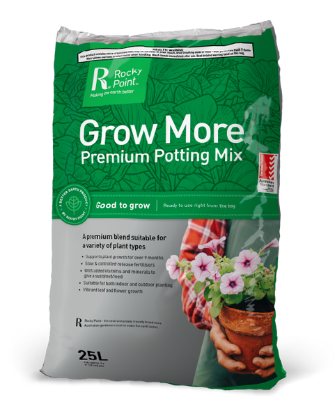 Rocky Point Grow More Potting Mix 30L