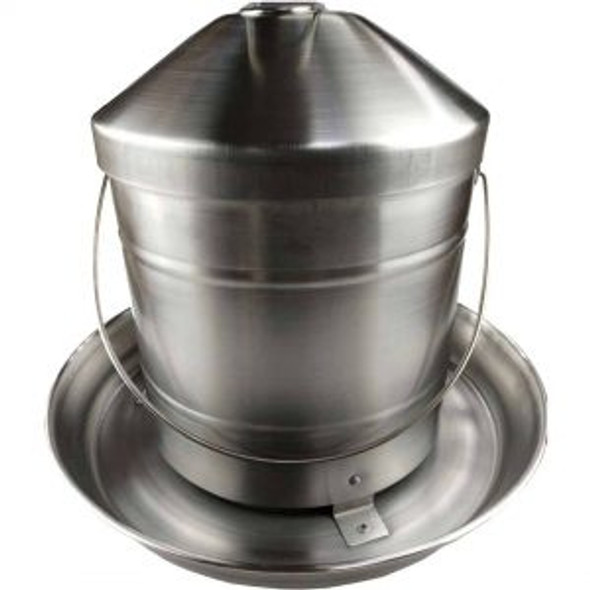 8Kg Stainless Steel Poultry Feeder