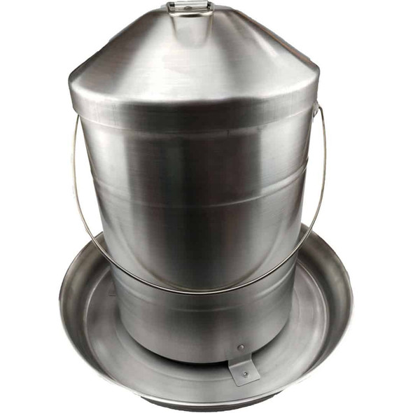 10Kg Stainless Steel Poultry Feeder