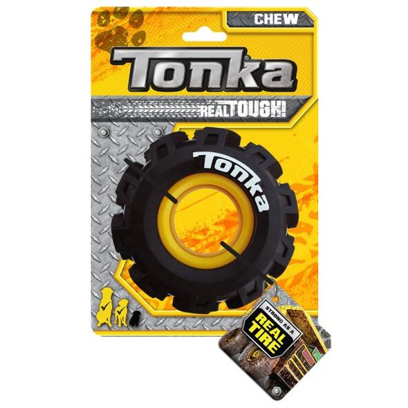 Tonka Seismic Tread Tyre Black/Yellow 12.5cm
