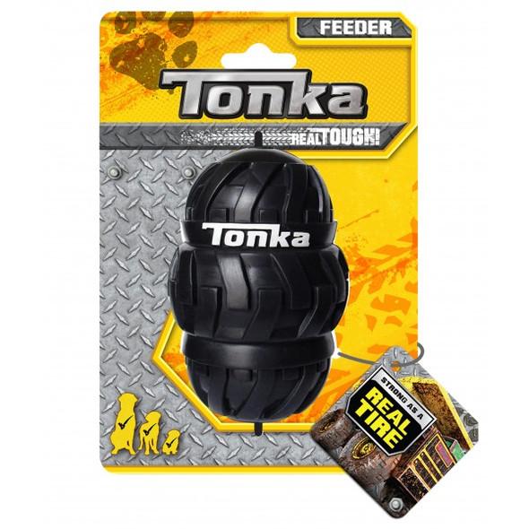 Tonka Tri Stack Tread Feeder Black 12.5cm
