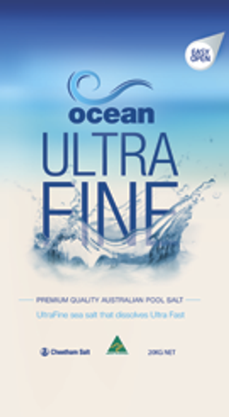 Ultra Fine Pool Salt  20KG