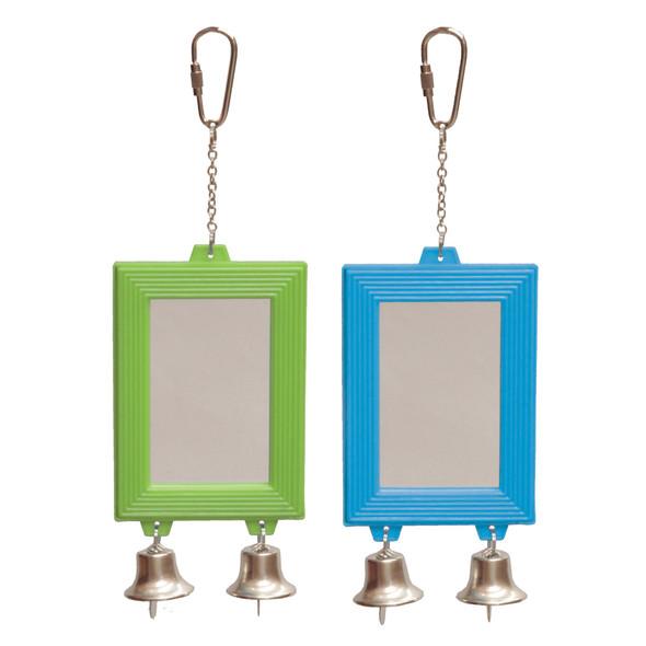 Rectangular Mirror w/Bell