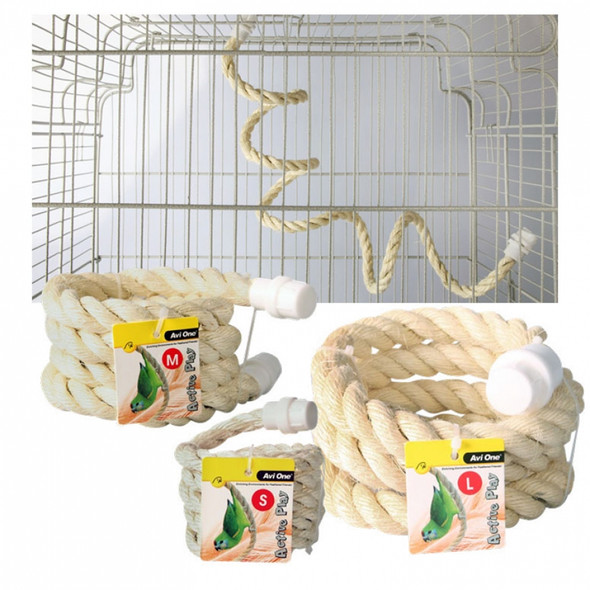 Boing Sisal Rope Bird Toy Small