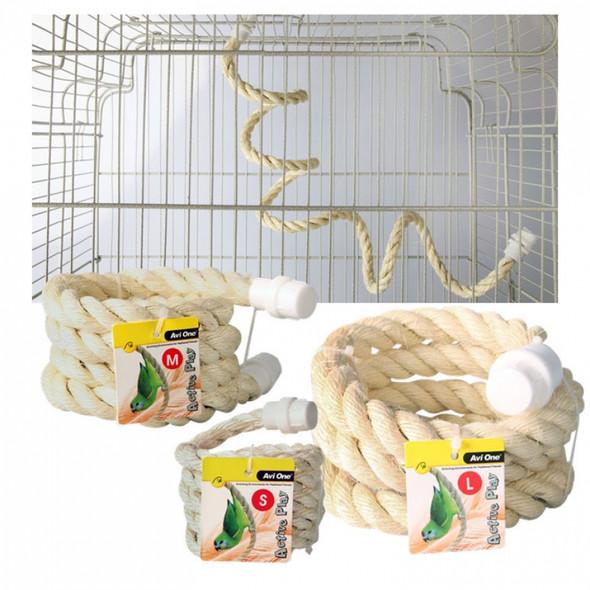 Boing Sisal Rope Bird Toy Medium