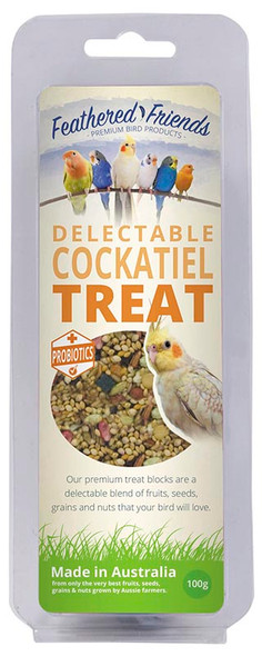 Feathered Friends Cockatiel Treat 100G