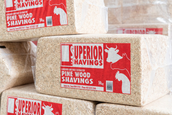 Wood Shavings Superior Bale 14kg