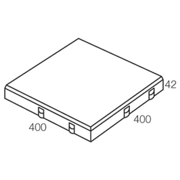 ESPLANADE SAND 400 x 400 x 42mm