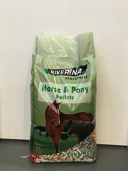Riverina - Horse & Pony Pellets 20Kg
