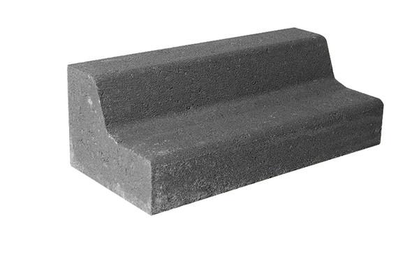 Lawn Edge Charcoal 230 x 110 x 80mm