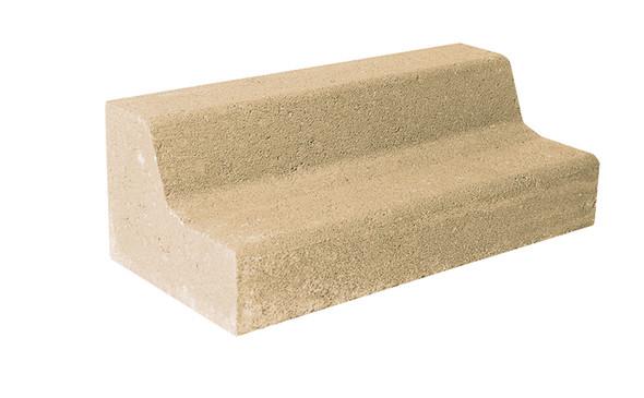 Lawn Edge Oatmeal 230 x 110 x 80mm