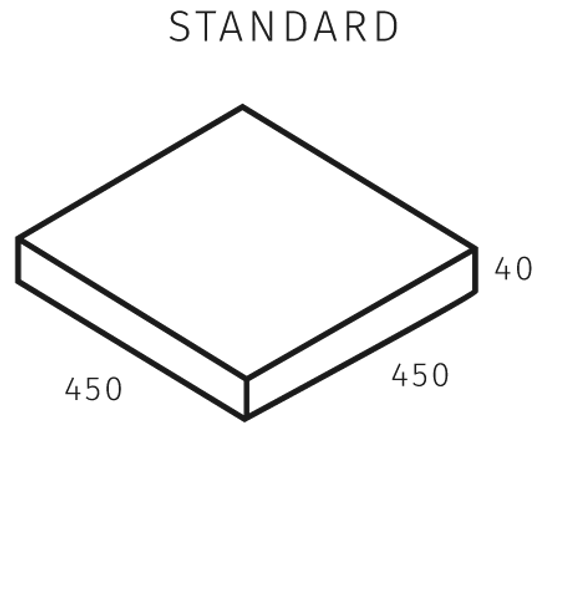 Abode Biscotti 450 x 450 x 40mm