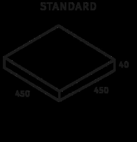 Abode Linen 450 x 450 x 40mm