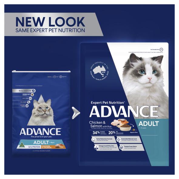 Advance Cat Adult Chicken & Salmon 3Kg