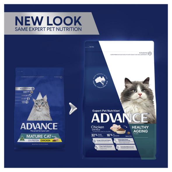 Advance Cat Healthy Ageing 8+ Chicken 3Kg