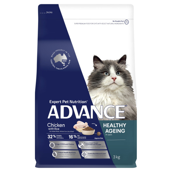Advance Cat Healthy Ageing 8+ Chicken 3Kg