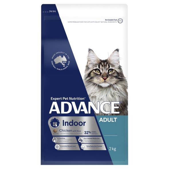 Advance Cat Adult Indoor - Chicken 2Kg