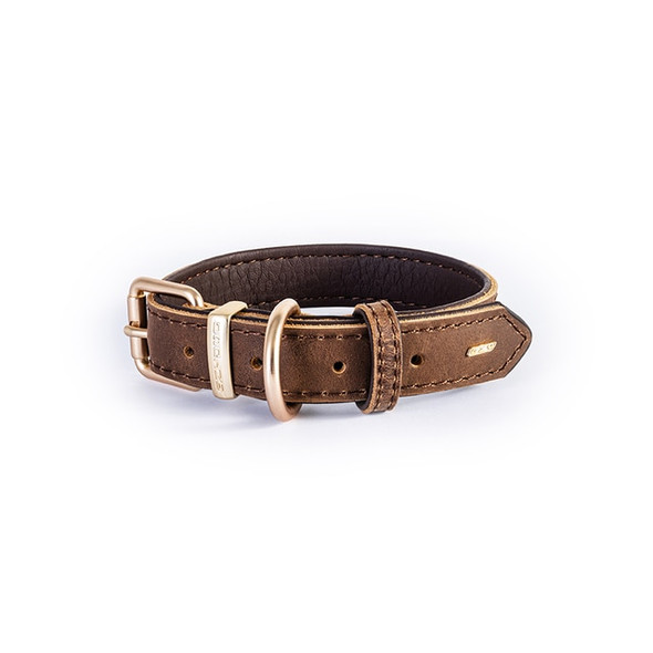 EzyDog Collar Oxford XS Brown