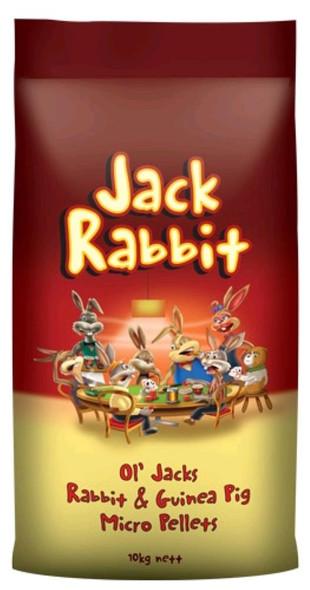 Jack Rabbit Guinea Pig Micro Pellets 10Kg