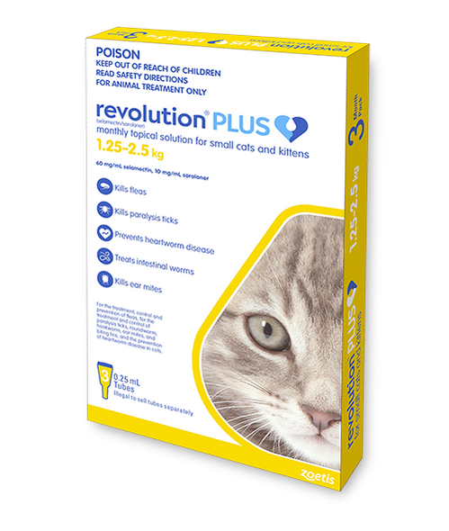 Revolution Plus - Cat 1.25-2.5kg 3pk