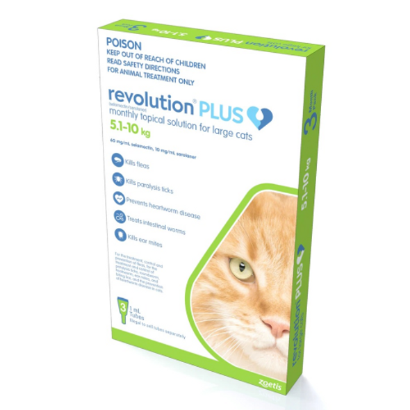 Revolution Plus - Cat 5-10kg 3pk