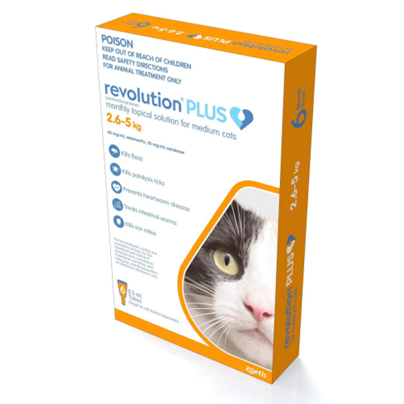 Revolution Plus - Cat 2.5-5kg 6pk