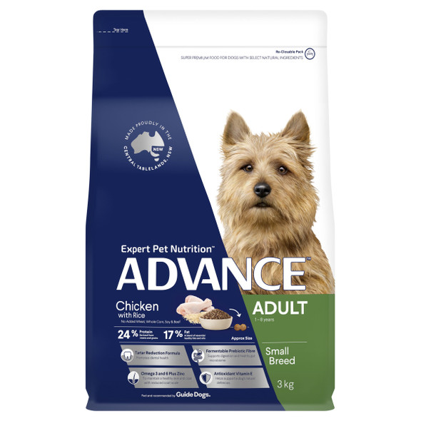 Advance Dog Adult Small Breed - Chicken 3kg