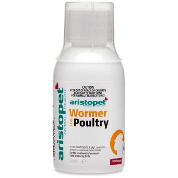 Aristopet Wormer for Poultry 125mL