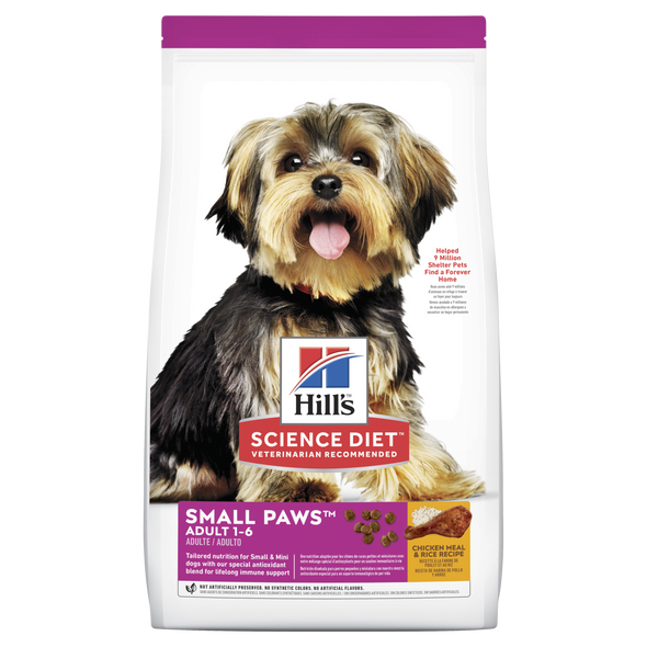 Science Diet Adult Small Paws 1.5Kg