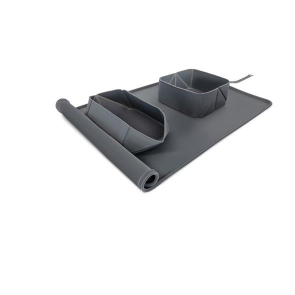 EzyDog Roll-A-Bowl Charcoal
