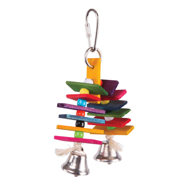 Bird Toy Arch Chips & Bells - Small