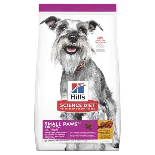 Science Diet Adult 7 + Small Paws 1.5Kg