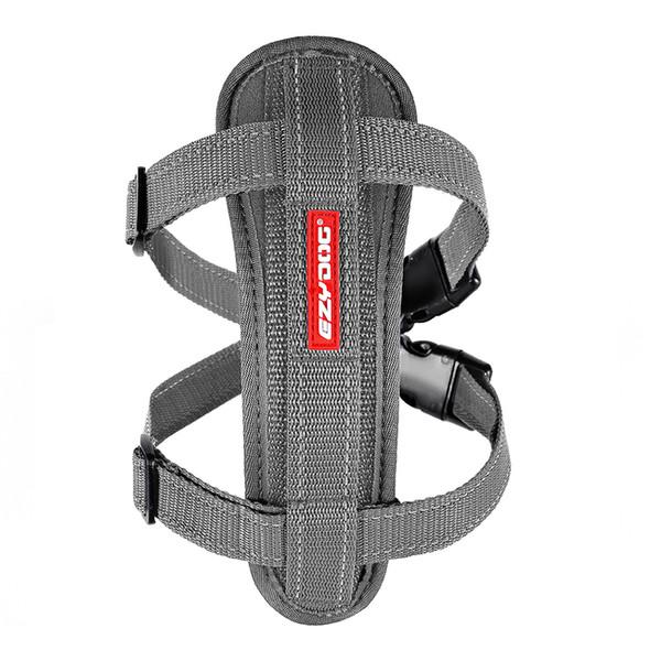 EzyDog Harness ChestPlate S Grey