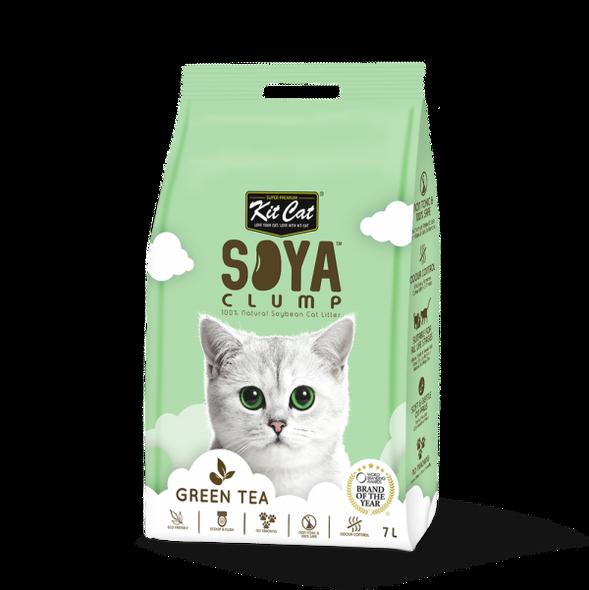 Kit Cat - Soya Clump Litter Green Tea 7L