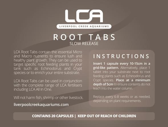 LCA Root Tabs 20pk